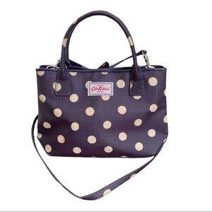 Cath Kidston London Polka Dot Cotton Canvas Bag